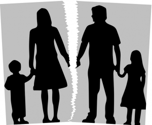 divort, custodie, partaj